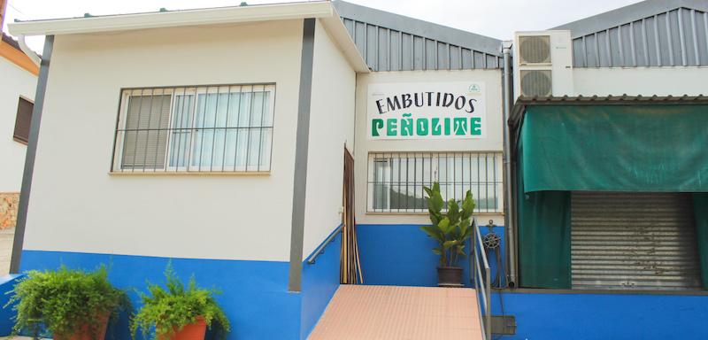 Vista de las instalaciones de Embutidos Peñolite en Jaén